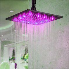 Neon Bedroom, Room Design Bedroom, Room Ideas Bedroom, Bedroom Decor, Dope Rooms, Shower Lighting, Fixed Shower Head, Room Lights, Pink Led Lights