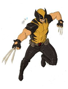 by kyomusha on DeviantArt Marvel Comics Art, Marvel Heroes, Anime Comics, Wolverine Art, Logan Wolverine, Comic Character, Character Design, Deadpool Art, Marvel And Dc Characters