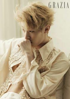 Henry Lau (劉憲華/헨리) for Grazia (18 July 2013)
