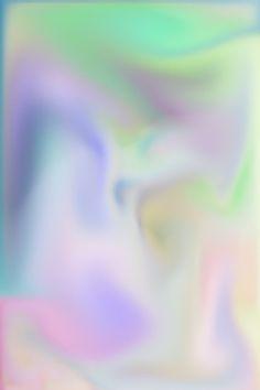 iridescent pastel rainbow