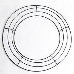 Floracraft Design It Wire Work Wreath 18 Inch