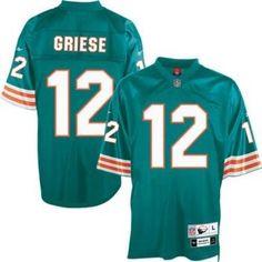 Reebok Miami Dolphins Brandon Marshall 19 White Replica Jerseys Sale.  Reebok Miami Dolphins Bob Griese ... bd69fd859