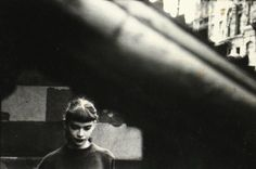 Daughter of Milton Abery, 1950 by Saul Leiter
