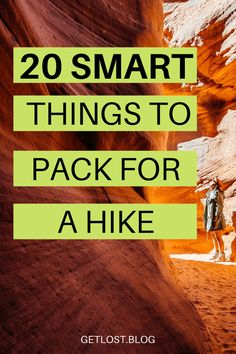 Are you looking to get outdoors on your staycation and wondering what to take hiking? Here are 20 hiking essentials you need to pack in your backpack for a one day hike. This packing list for women covers everything you need in your backpack. Variations included for basic summer and winter essentials too. Click the pin to start compiling your ultimate hiking day pack. #outdoors #traveltips #hiking #hiker #backpacking #hikingmusthaves #travelessentials #getlosttravelblog