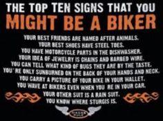 Top Ten Signs