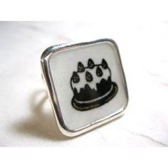 Square Ring, Alice, cake By Nina Chardon #ninachardon