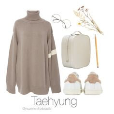 A fashion look from February 2017 featuring Tuinch sweaters and Isabel Marant sneakers. Browse and shop related looks. A fashion look from February 2017 by youaremorethanbeautiful featuring Tuinch, Isabel Marant, Paper Mate and Angel Jackson Kpop Fashion Outfits, Korean Outfits, Look Fashion, Korean Fashion, Womens Fashion, Cute Casual Outfits, Outfits For Teens, Kpop Mode, Jugend Mode Outfits