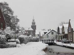 Winters plaatje Oud Zoetermeer