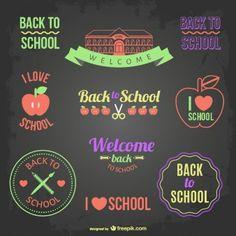 Voltar para emblemas da escola e banners