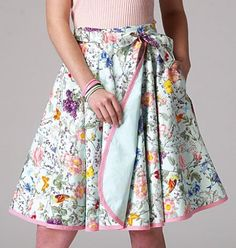"""As it's """"Skirts"""" month for our CSC Season of Separates monthly challenges, it seemed apropos to share some fast and easy beginner friendly skirt patterns.  The following patterns…"""