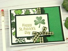 Tri Fold Cards, Folded Cards, Cricut Cards, Stampin Up Cards, St Paddys Day, Scrapbook Cards, Scrapbooking, Greeting Cards Handmade, Homemade Cards