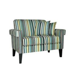 @Overstock - The angelo:HOME Ennis loveseat was designed by Angelo Surmelis. The Ennis loveseat has squared arms and is covered in a beautiful multi-colored stripe fabric.http://www.overstock.com/Home-Garden/angelo-HOME-Ennis-Shoreline-Stripe-Blue-Loveseat/6267565/product.html?CID=214117 $407.69