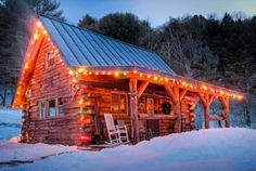 Christmas Cabin in the Woods                                                                                                                                                                                 More