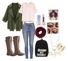"""""""HOTNESS"""" by desiner on Polyvore featuring H&M, Avenue, Topshop, Sephora Collection, BCBGMAXAZRIA, Michael Kors and WithChic"""