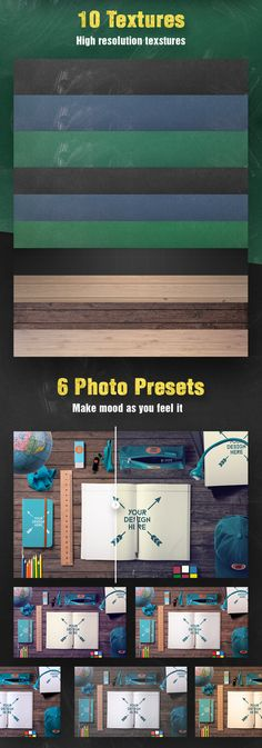 Buy Back To School Mockups and Hero Image Scene Generator by CreativeForm on GraphicRiver. Back to school mockup is scene generator that help you to create beautiful hero images for print and website headers. Website Header, Web Design Trends, Scene Creator, Mockup, Back To School, Hero, Graphic Design, Image, Beautiful