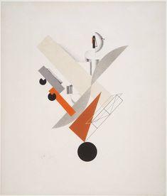 El Lissistzky, 5. Globetrotter (in Time) 1923, Constructivism