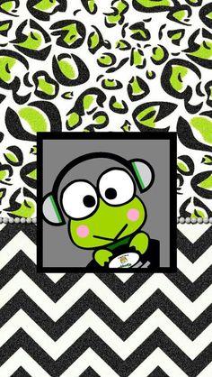 Keroppi Wallpaper, Frog Wallpaper, Hello Kitty Wallpaper, Wallpaper Backgrounds, Favorite Cartoon Character, Cute Anime Character, Little Twin Stars, Cool Wallpapers For Phones, Cute Wallpapers