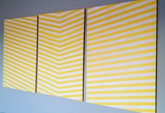 """""""arrow"""" canvases   life in yellow"""