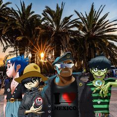 "35.8 k mentions J'aime, 486 commentaires - Gorillaz (@gorillaz) sur Instagram : ""HUMANZ OF MEXICO ❤️ WE'RE COMING ✊ link in bio #HUMANZWORLDTOUR #VL18"""