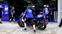 Movistar Yamaha MotoGP At The Sepang Test - Day 1 (VIDEO)