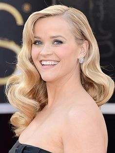classic old Hollywood-inspired curls #hairspiration