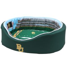 For the pet that yearns to see McLane Stadium... // #Baylor Bears Large Stadium Pet Bed