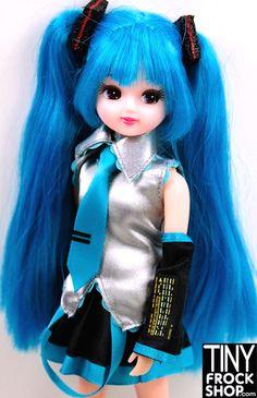 Takara Tomy Licca Chan Hatsune Miku Doll - NIB