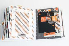 Crafty by AgnieszkaBe: Hey Little Magpie Magpie, Mini Albums, Scary, Crafty, Fall, Autumn, Fall Season, Im Scared, Eurasian Magpie