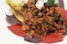 Check out this great recipe for delicious Tamales filled with succulent slow-roasted shredded beef.