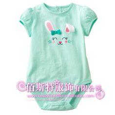 婴幼儿服装_品牌婴幼儿服装little maven短袖包屁衣 全棉女款 b4300 - 阿里巴巴