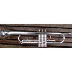 Lawler 25B-2  SN/ 0299 Trumpets, Silver Plate, Artisan, Trumpet, Silverware Tray, Craftsman