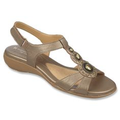 Naturalizer Women's Carlita Huarache Sandal,10 B(M) US,Nickel Alloy Goat Metallic Leather ** Startling review available here  - Naturalizer sandals