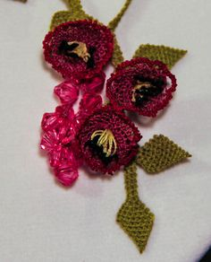 turkish #oya #needlelace - $39.50, via Etsy.