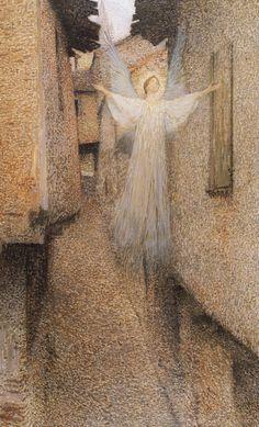 23silence:  Henri Martin - L'apparizione, 1895