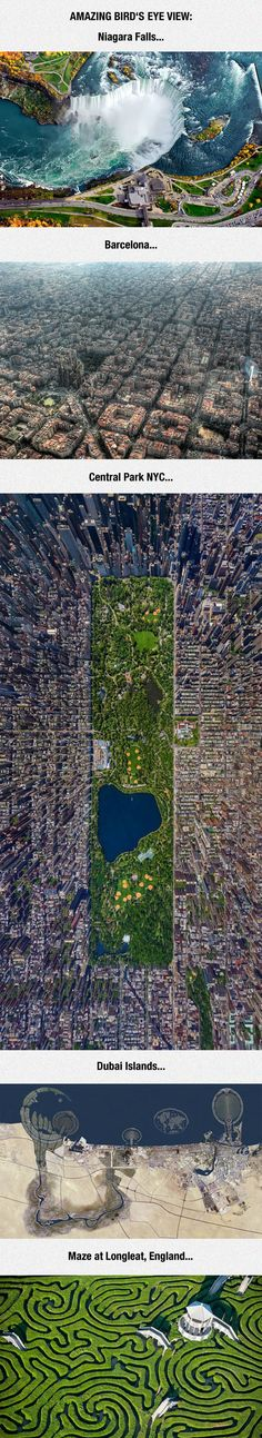 Cities Are So Beautiful From Above
