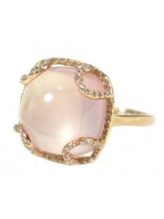 large white pearl and diamonds
