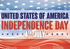 American Flag with Abstract Waves and Stars for Independence Day America Independence Day, American Independence, American Flag, Patriotic Background, Abstract Waves, Happy 4 Of July, Free Vector Art, Image Now, Stars