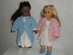 "Free 18"" doll slippers knitting pattern"