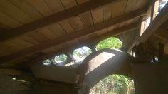 Casita de las esculturas desde adentro - sculptures' little house from the inside
