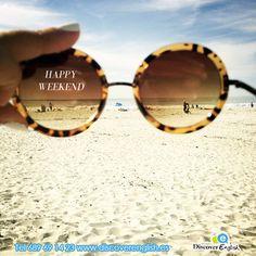 happy weekend from www.discoverenglish.es en Fuente Alamo, Academia de ingles