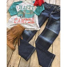 """#NEWARRIVALS #TWEEN #HappyCamper #Lace #Sleeve #Top $24.99 2/4-8/10 #MissMe #SkinnyJeans $86.00 8-14 #Fringe #Boots $34.99 12-2, 4 #Bow $7.99 We #ship! Call to order! 903.322.4316 #shopdcs #goshopdcs #shopfall #shoplocal #love"" Photo taken by @daviscountrystore on Instagram, pinned via the InstaPin iOS App! http://www.instapinapp.com (10/23/2015)"