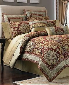 LOVE THIS CROSCILL GALLERIA KING SIZE COMFORTER SET - Croscill galleria king comforter set