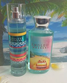 bath and body works endless weekend shower gel and fine fragrance mist #ebay #GiftIdeas  #beauty #makeup #fragrance  #fashion #giftforher #Gift