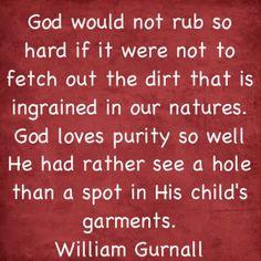 Tis true. Puritan quote
