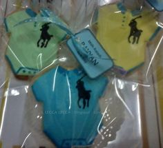 fancy cookies for aqiqah - rompers with polo logo