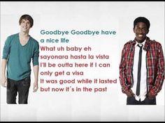 MKTO- Goodbye Song with lyrics on screen - YouTube