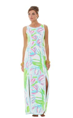 Biltmore Maxi Shift Dress - so pretty! Just too long and too much for this shorty!