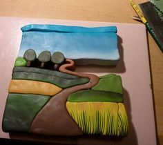 landscape polymer clay - Google Search