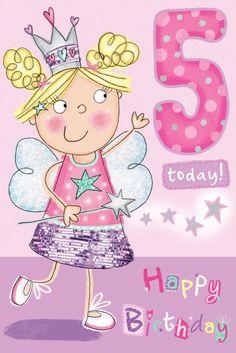 Happy Be-elated 5th Birthday Tiffany. From Nurse Blanche
