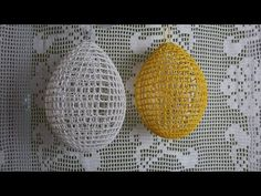 Happy Easter, Crochet Earrings, Crochet Patterns, Make It Yourself, Eggs, Youtube, Easter, Objects, Tejidos